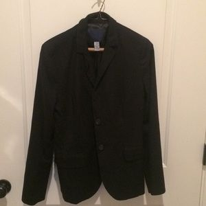 J crew navy suit jacket size 10 worn once